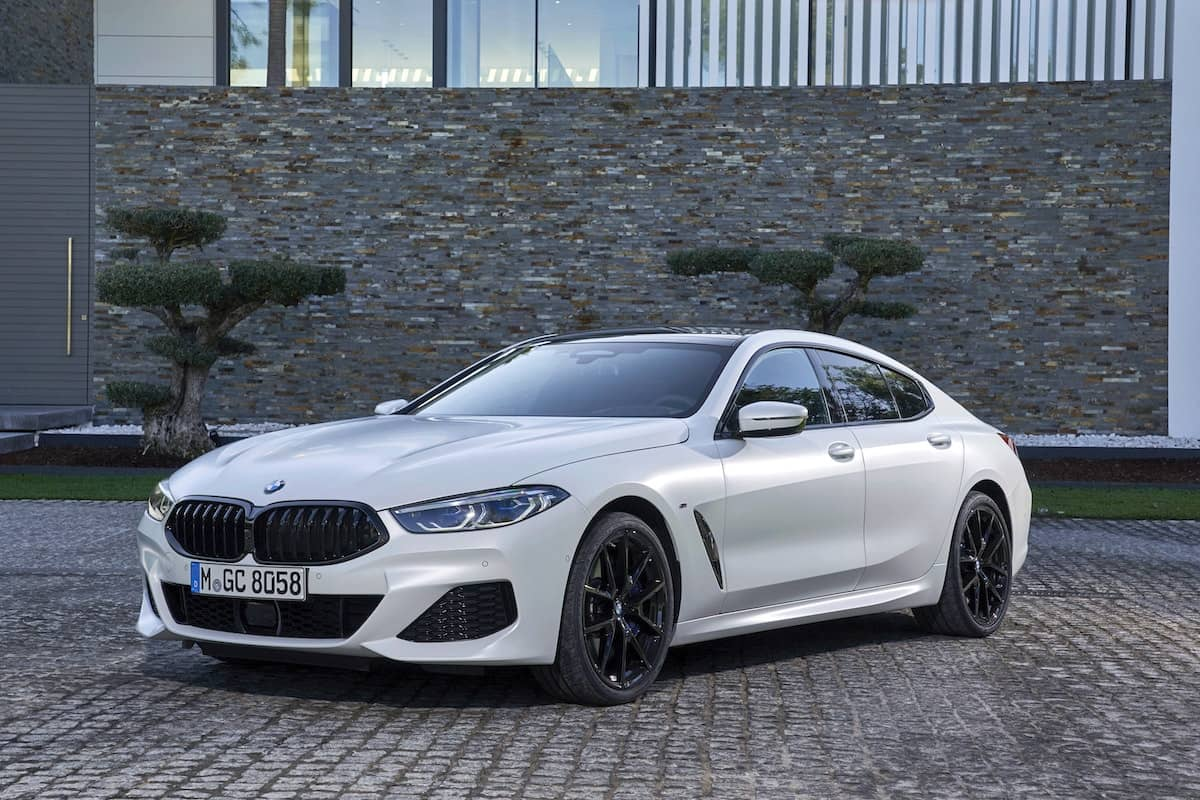 BMW 8 Series Gran Coupe review – front view | The Car Expert