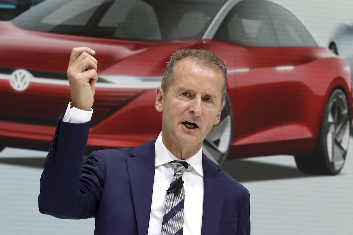 Herbert Diess, Volkswagen Group CEO