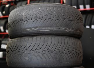 Illegally worn tyres from a UK car | The Car Expert