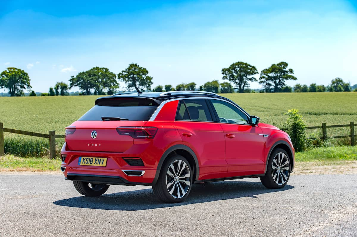 Volkswagen T-Roc R-Line (2018) rear view | The Car Expert