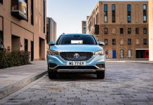 MG ZS EV electric vehicle - front | The Car Expert
