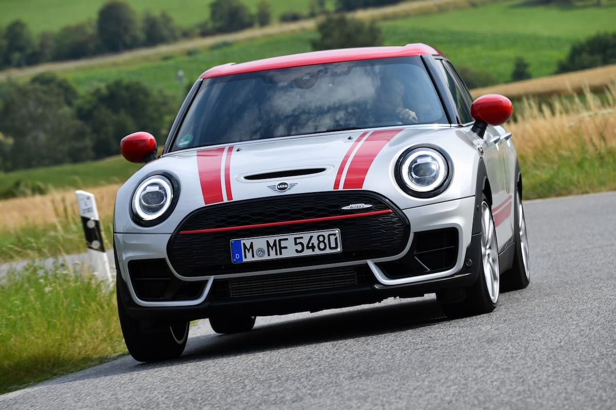 Mini Clubman John Cooper Works road test - front | The Car Expert