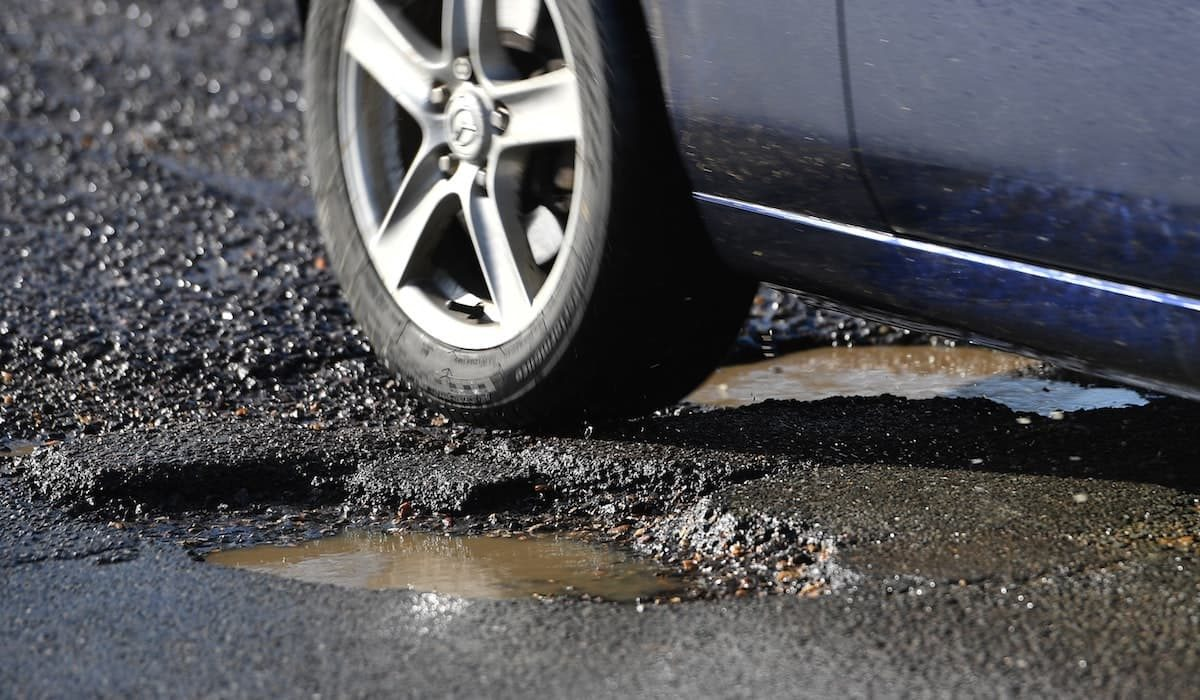 Illegal tyres can be caused by pothole damage | The Car Expert