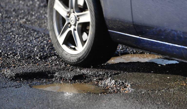 Potholes cost pounds