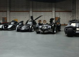 Line-up of Batmobiles | The Car Expert