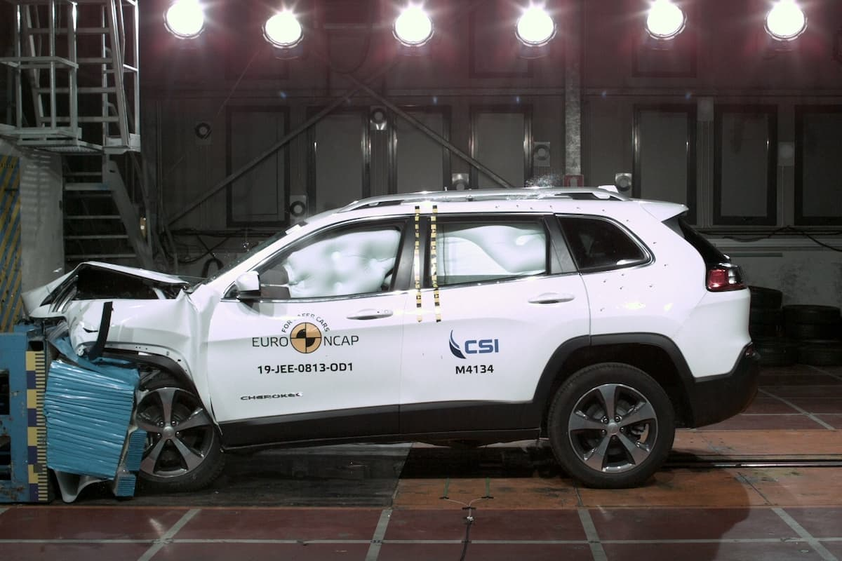 Jeep Cherokee Euro NCAP crash test | The Car Expert