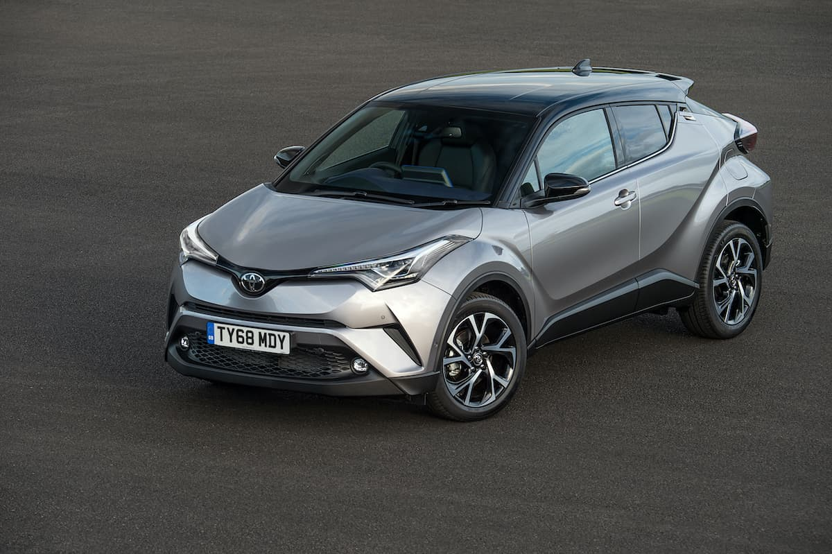 Toyota C-HR (2016 - present) - front view | Expert Ratings | The Car Expert