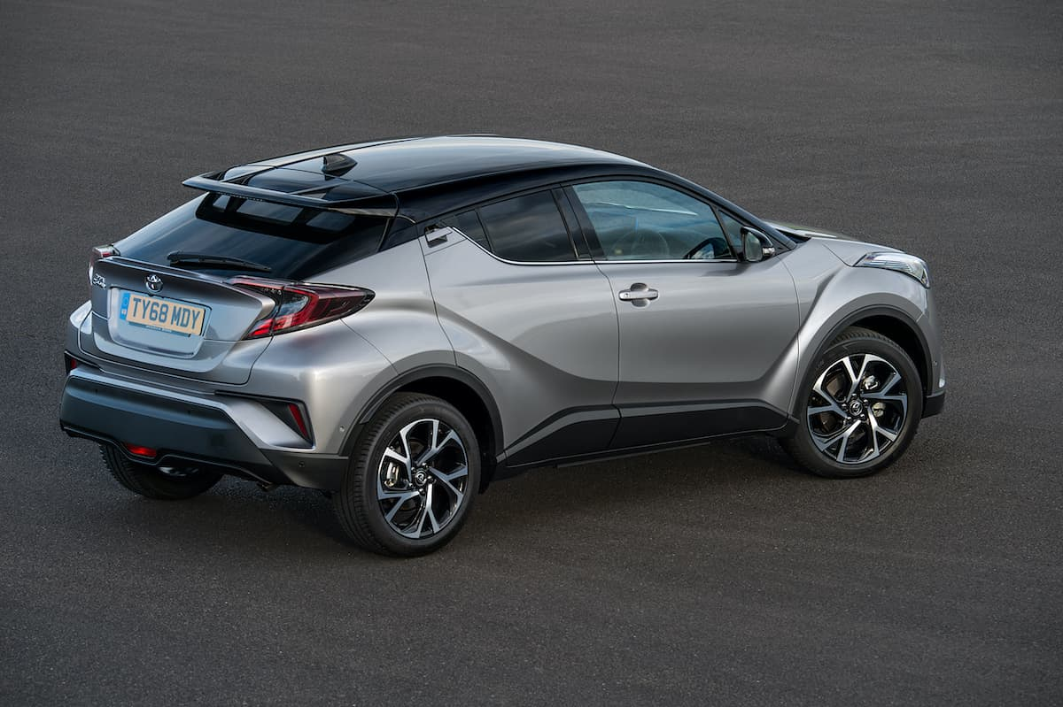 Toyota C-HR (2016 - present) - rear view | Expert Ratings | The Car Expert