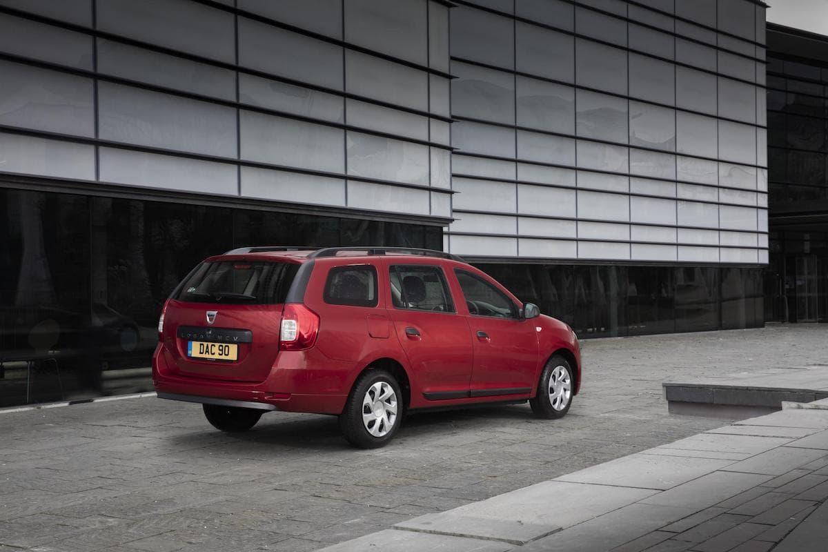Dacia Logan MCV (2013 - ) rear view   The Car Expert
