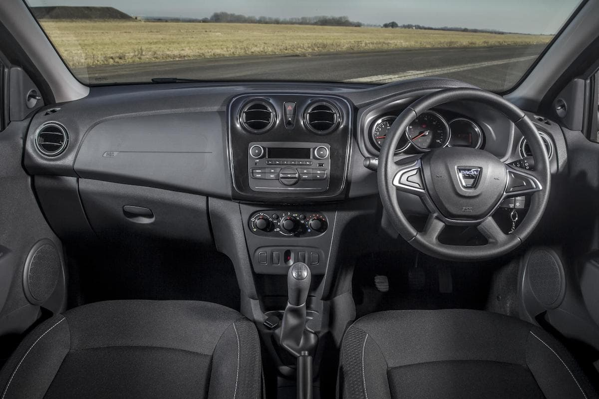 Dacia Logan MCV (2013 - ) interior and dashboard   The Car Expert