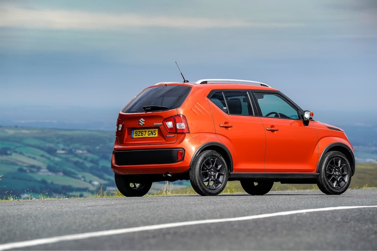 Suzuki Ignis SZ5 - rear view | The Car Expert