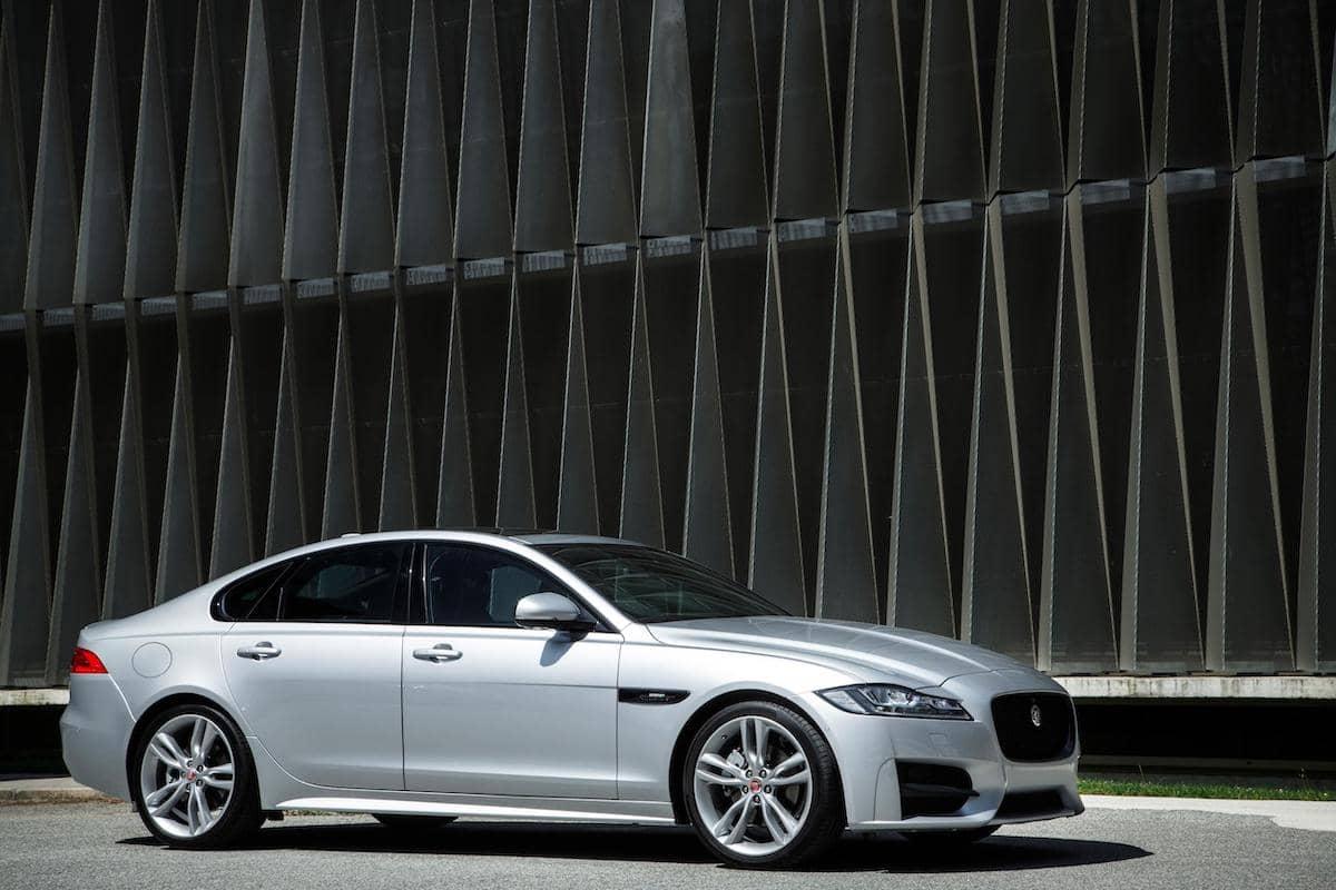 Jaguar XF (2015 onwards ) - front view | The Car Expert