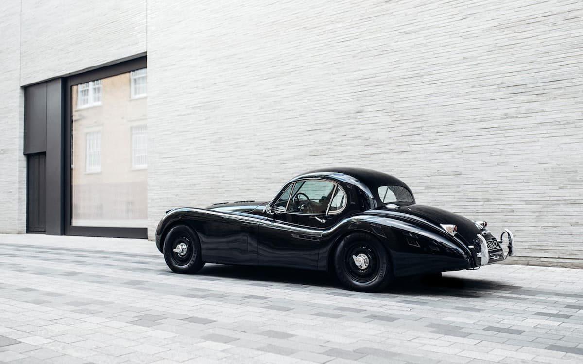 Lunaz electric Jaguar XK120 coupe | The Car Expert