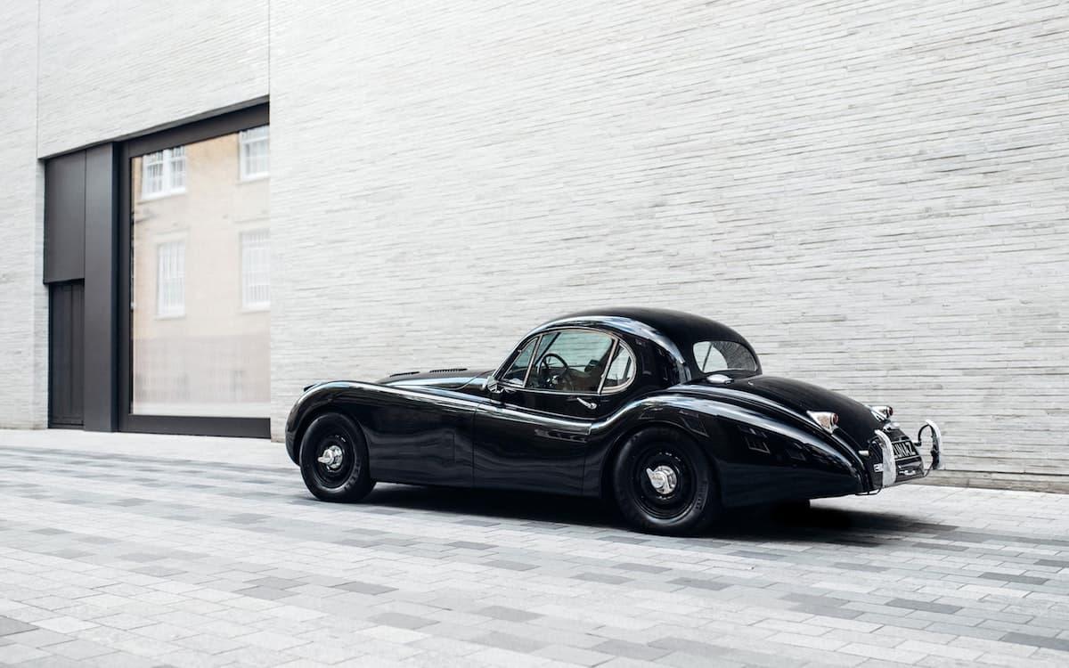 Lunaz electric Jaguar XK120 coupe   The Car Expert
