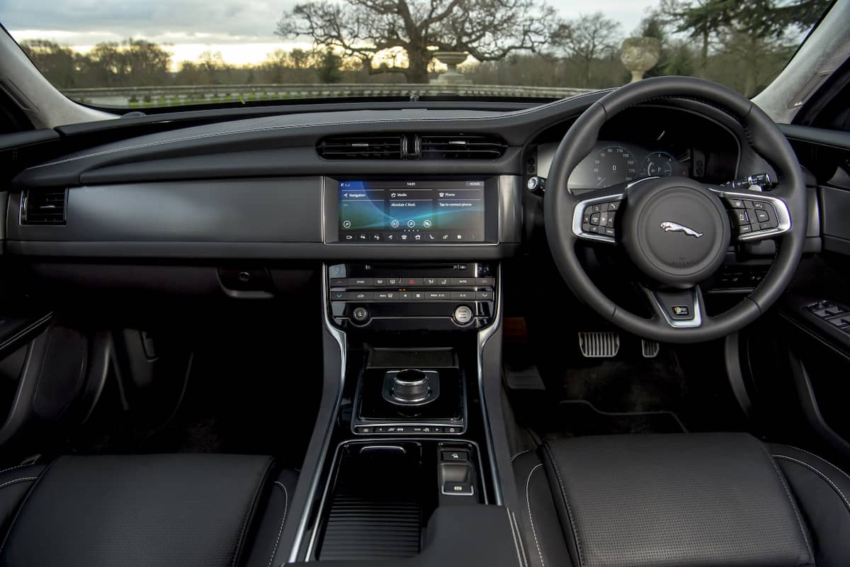 Jaguar XF (2017 onwards ) - interior and dashboard | The Car Expert