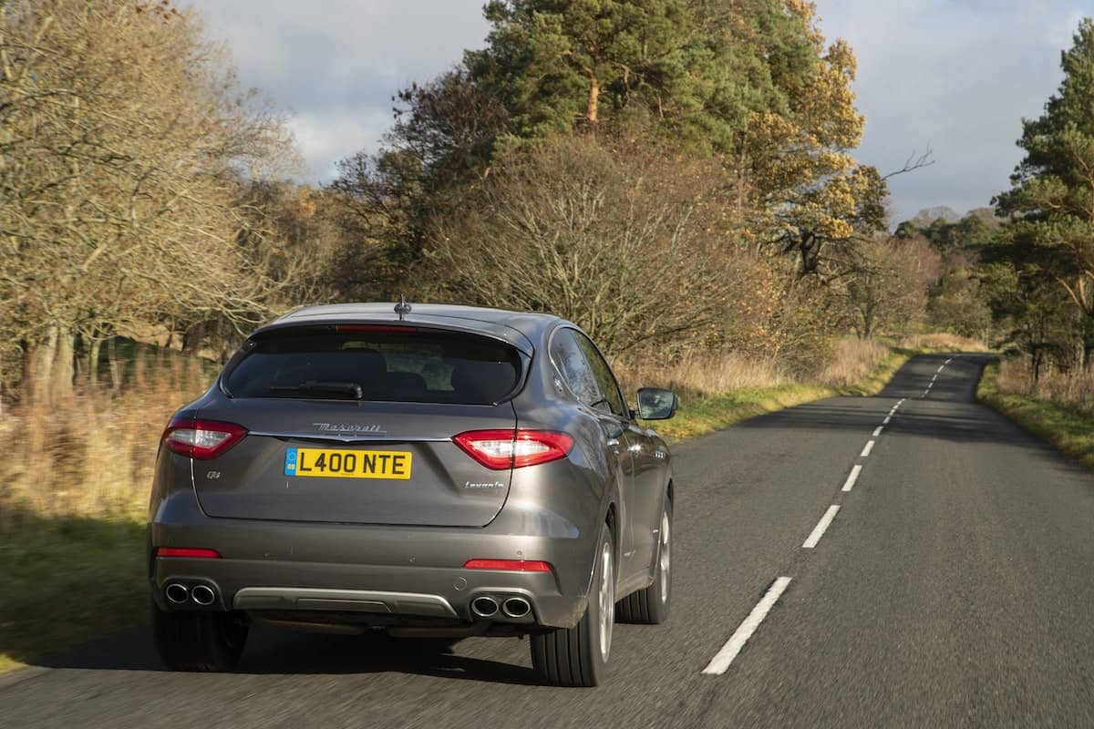 Maserati Levante GranLusso road test - rear view | The Car Expert