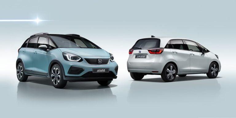 Honda reveals new Jazz with hybrid power