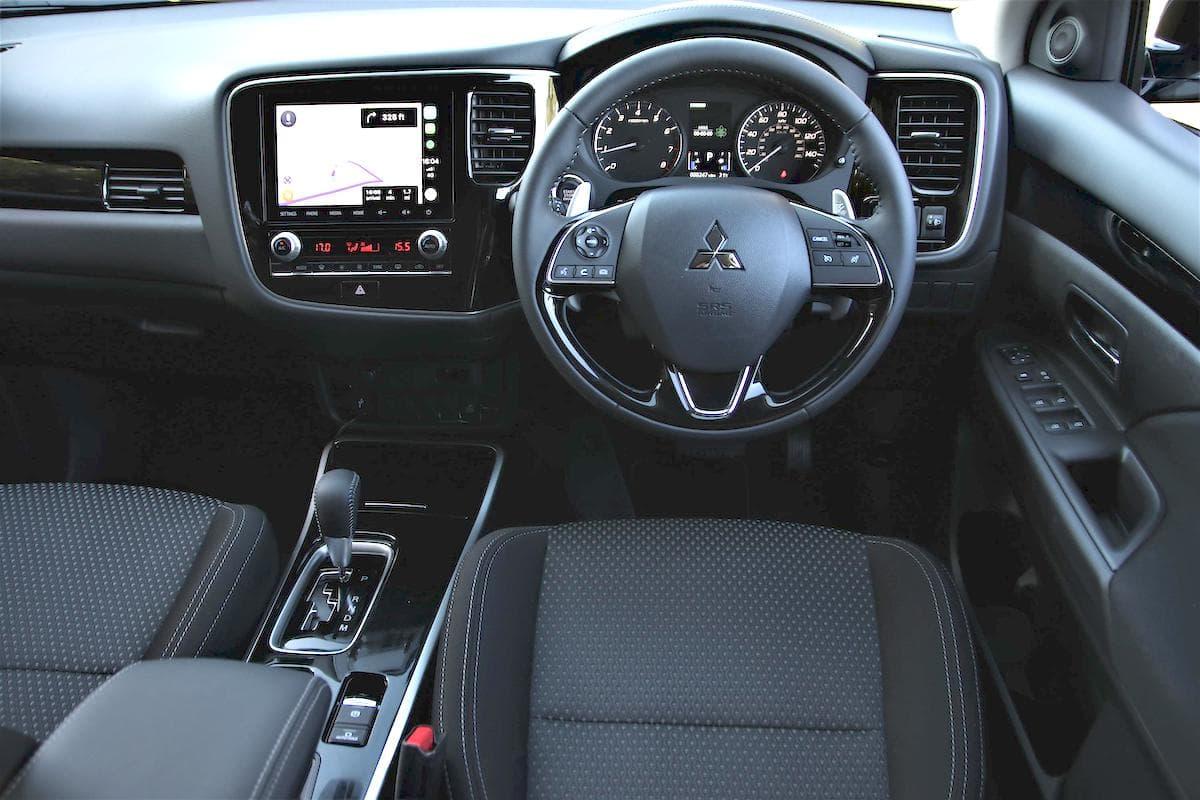 2020 Mitsubishi Outlander petrol - interior and dashboard | The Car Expert
