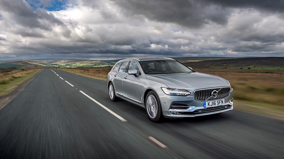 Volvo V90 –Best used estate cars for under £20,000 | The Car Expert