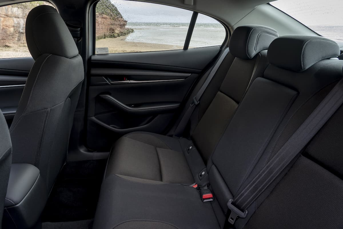 Mazda 3 review 2019 – rear seats | The Car Expert