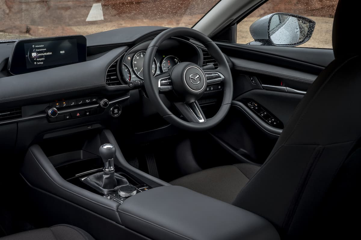 Mazda 3 review 2019 – interior and dashboard | The Car Expert