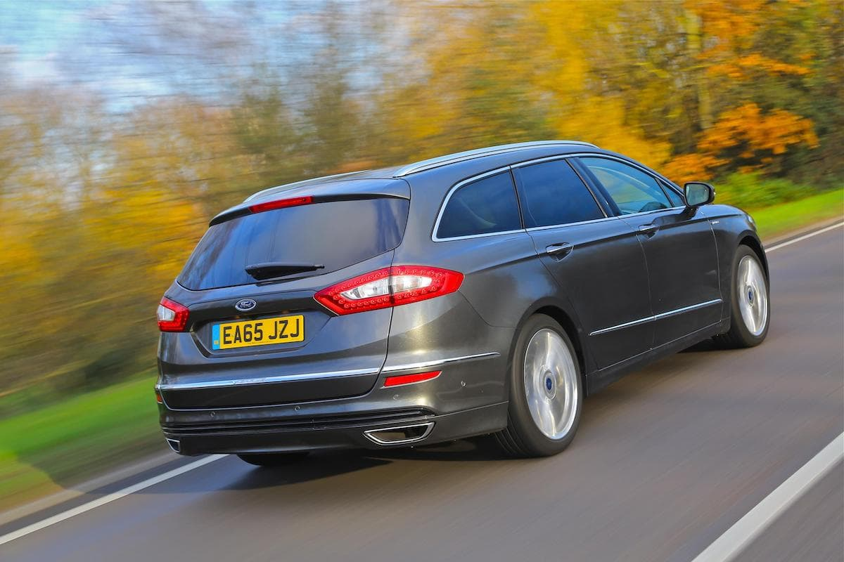 Ford Mondeo estate - rear view | The Car Expert