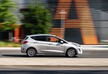 Ford Fiesta Trend – side view