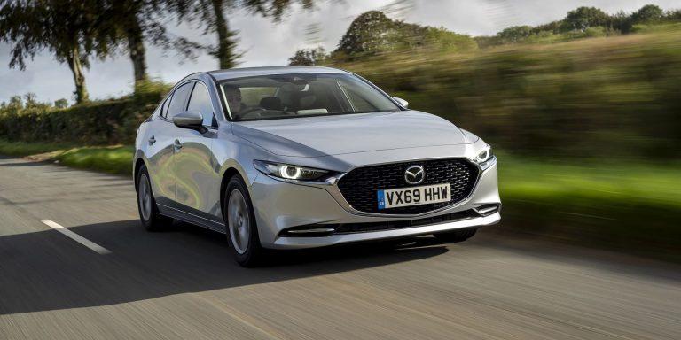 Mazda 3 saloon SkyActiv-X review