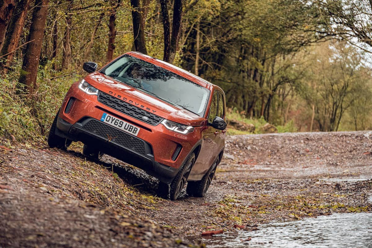 Land Rover Discovery Sport off-road test – front | The Car Expert