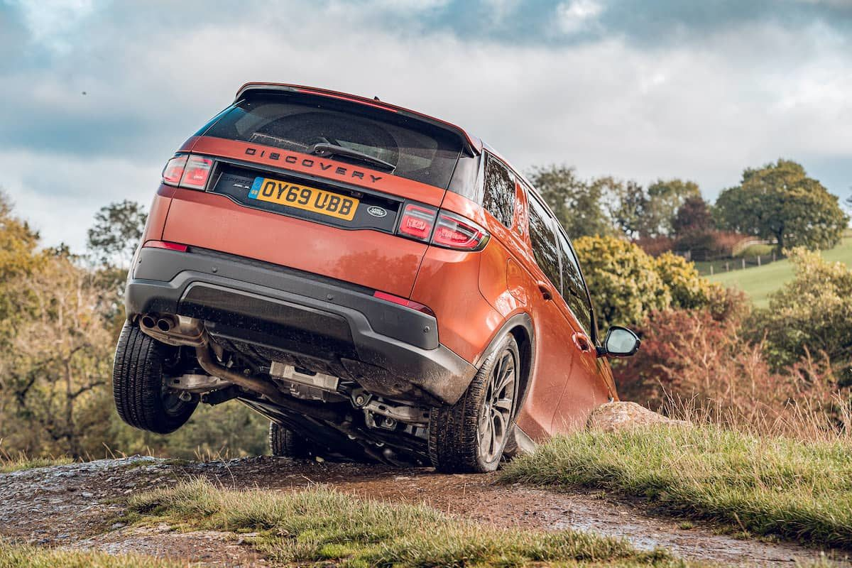 Land Rover Discovery Sport off-road test – rear | The Car Expert