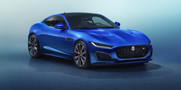 Updated Jaguar F-Type arrives with dramatic new look