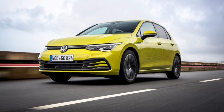 2020 Volkswagen Golf test drive