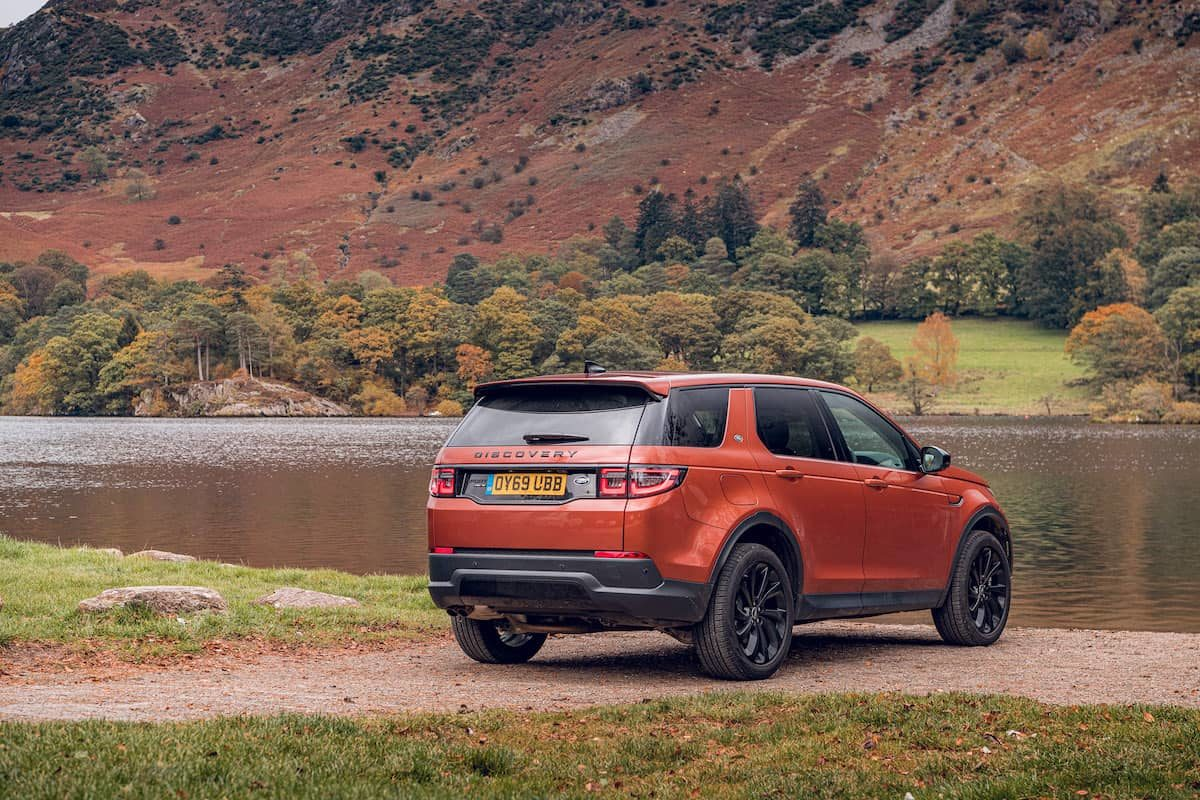 Land Rover Discovery Sport review – rear | The Car Expert