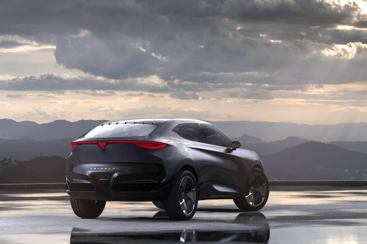 Cupra Tavascan concept - rear   The Car Expert