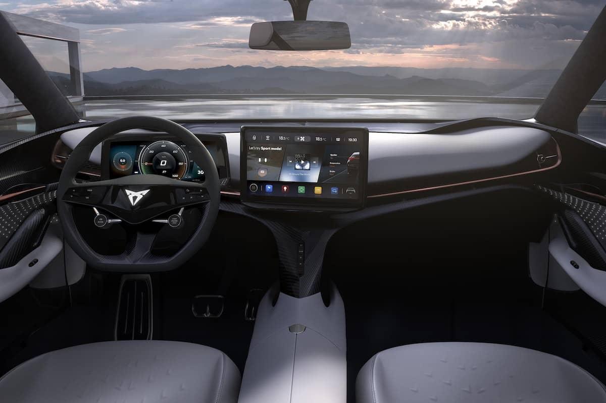 Cupra Tavascan concept - dashboard   The Car Expert