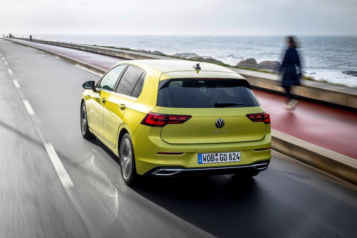 2020 Volkswagen Golf road test – rear | The Car Expert