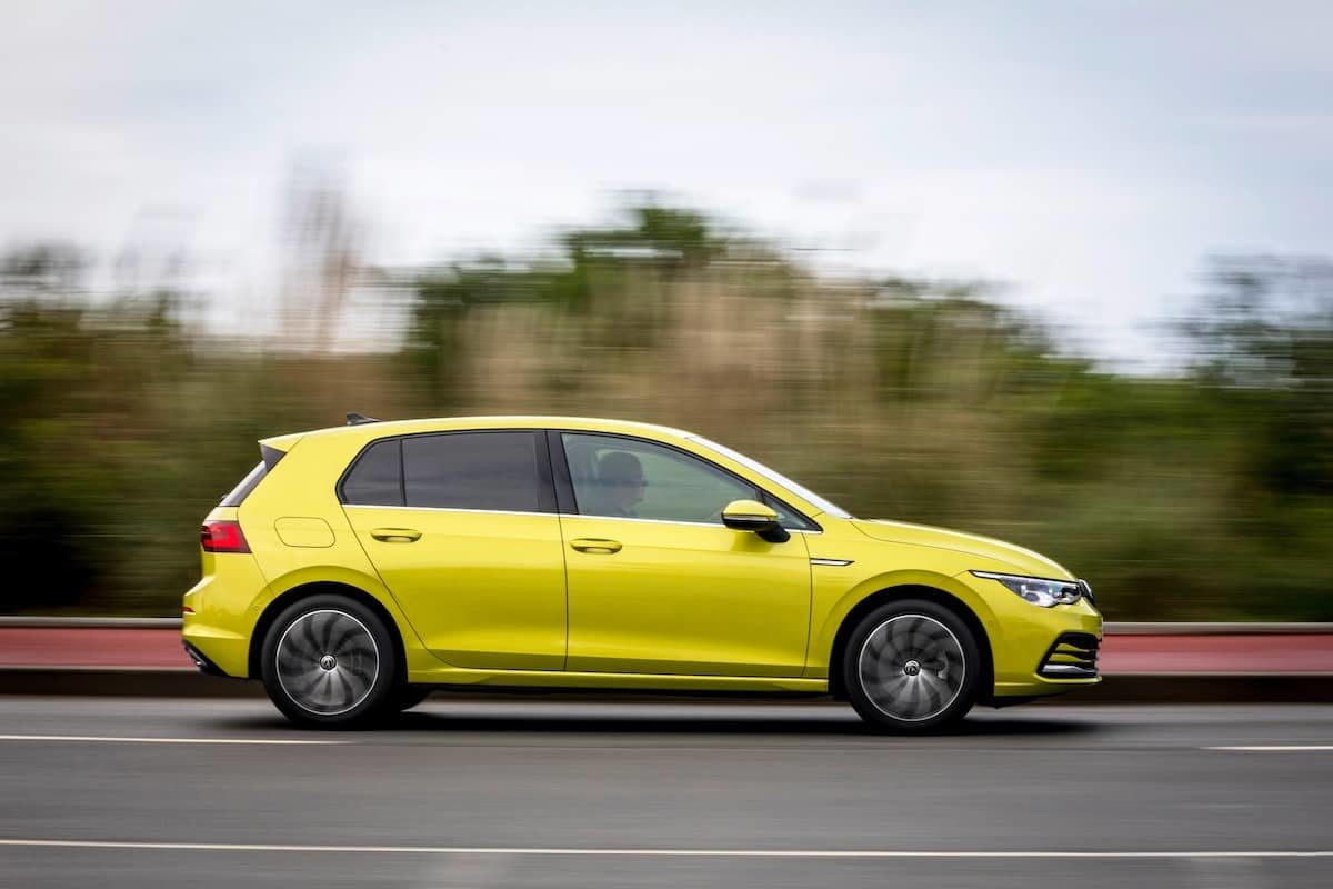 2020 Volkswagen Golf road test – side | The Car Expert