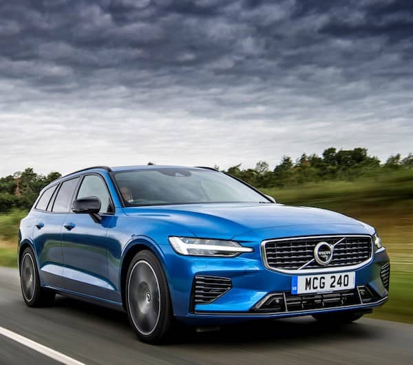 Volvo brand header - mobile