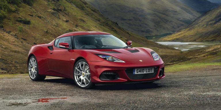 Lotus Evora GT410 revealed as more road-oriented sports car