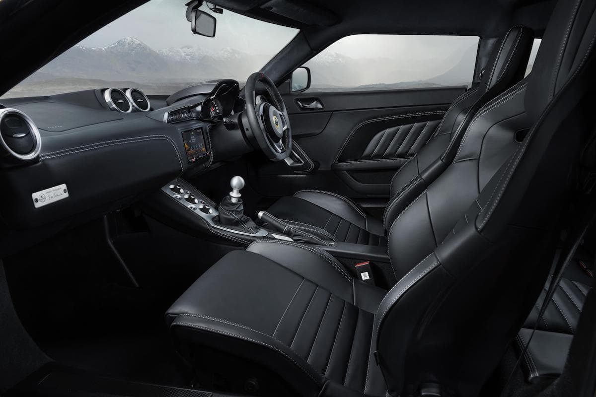 Lotus Evora GT410 - interior and dashboard   The Car Expert