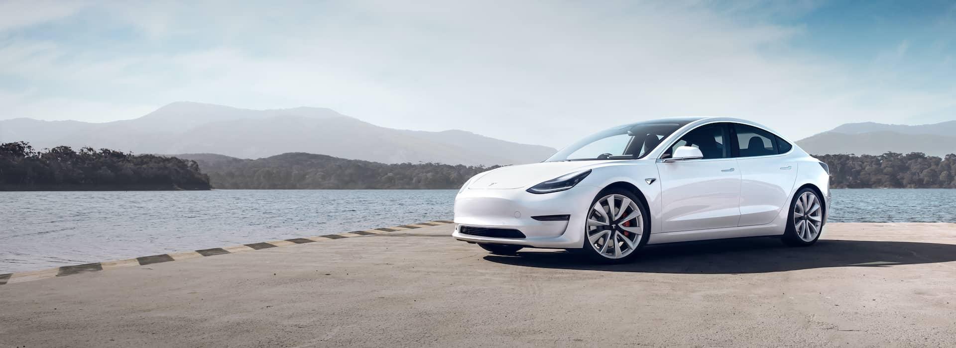 Tesla brand header
