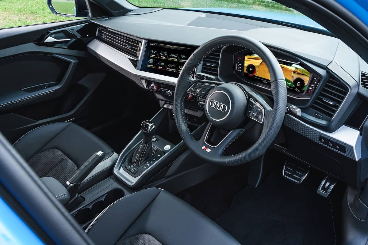Audi A1 S line Competition interior and dashboard   The Car Expert