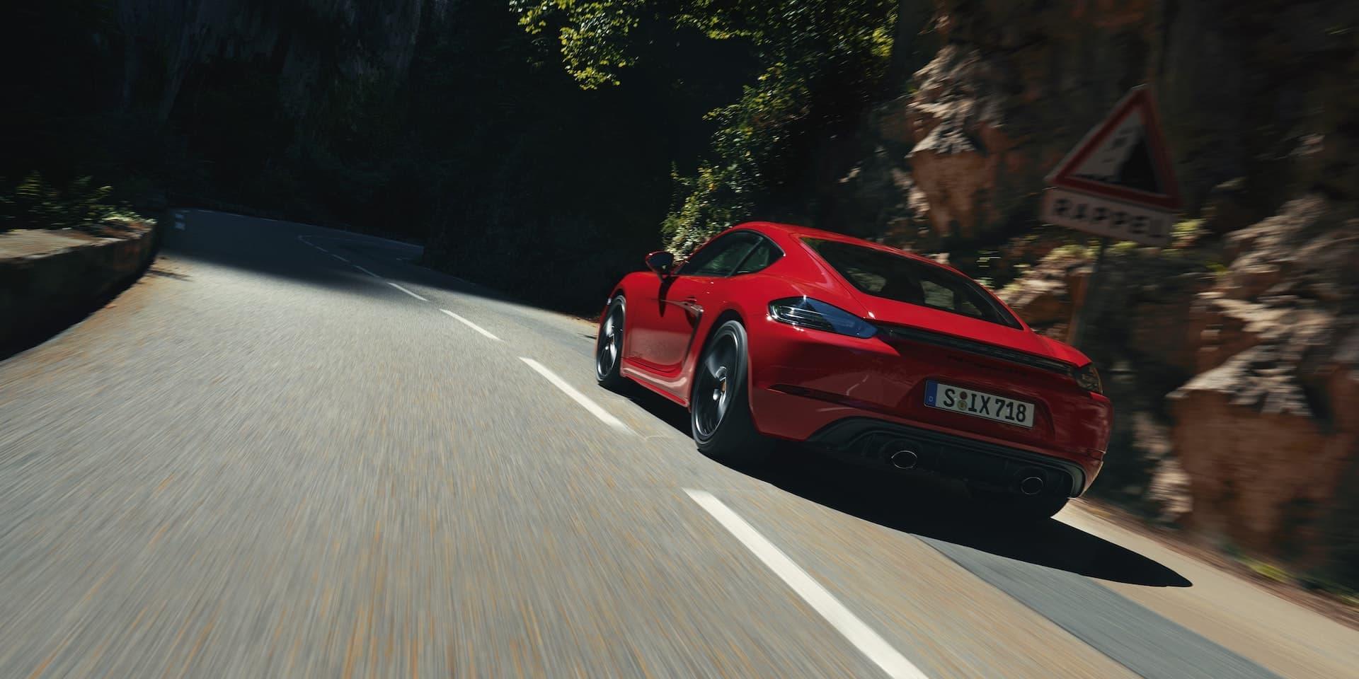 2020 Porsche 718 Cayman GTS 4.0-litre six-cylinder