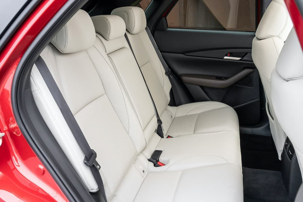 Mazda CX-30 review - rear seats | The Car Expert