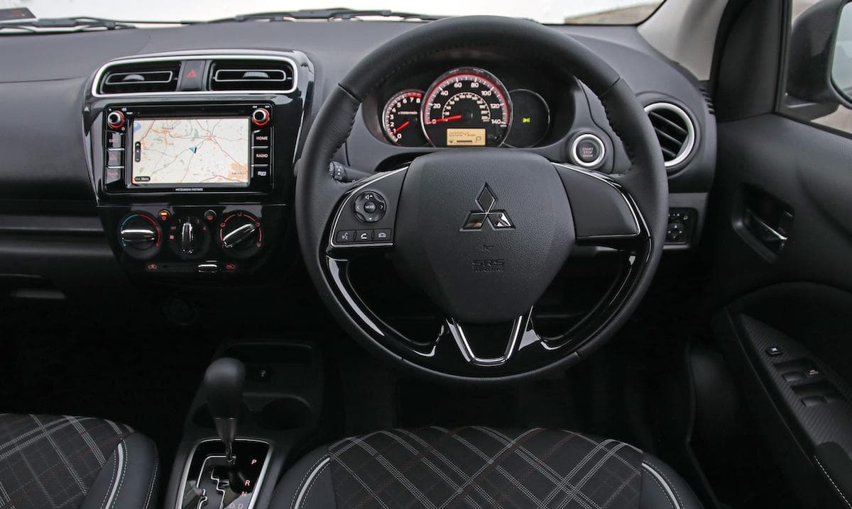 2020 Mitsubishi Mirage - dashboard | The Car Expert