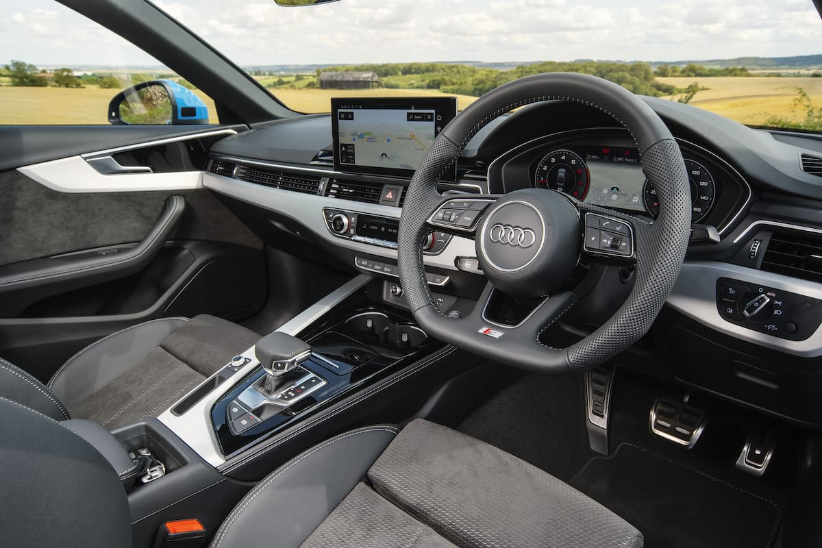 Audi A4 (2019) - interior and dashboard  The Car Expert