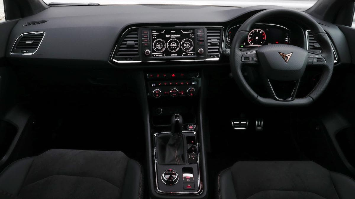 Cupra Ateca (2018 - 2020) - dashboard