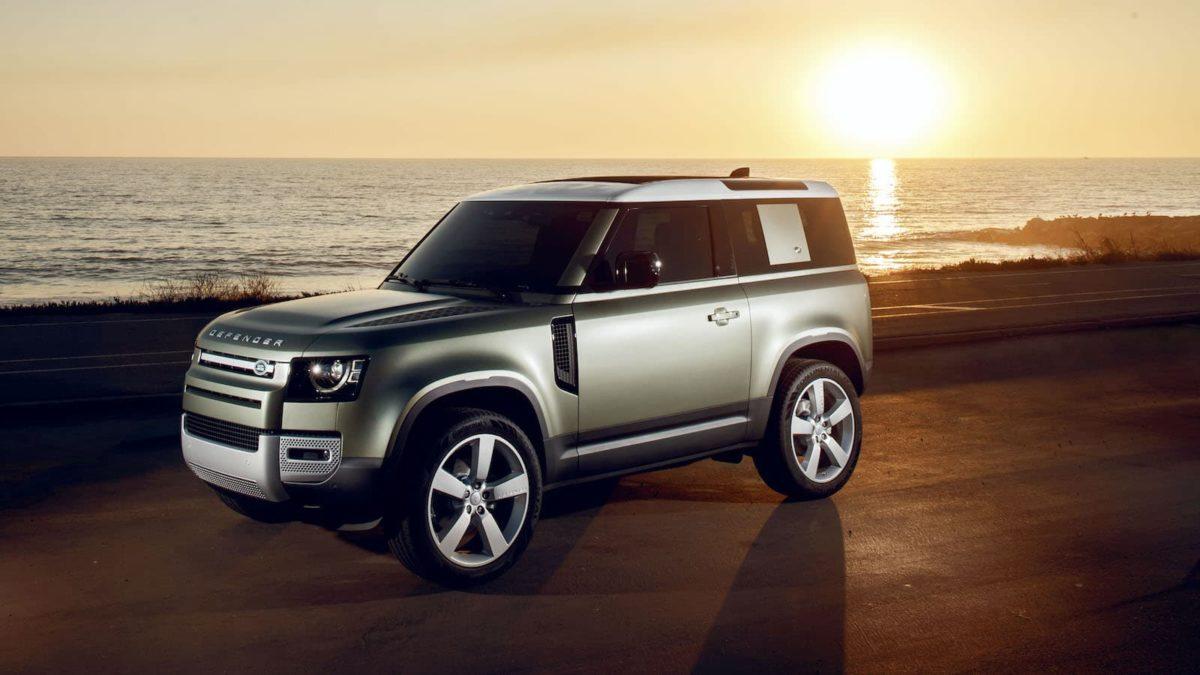 2020 Land Rover Defender 90 - beach | The Car Expert