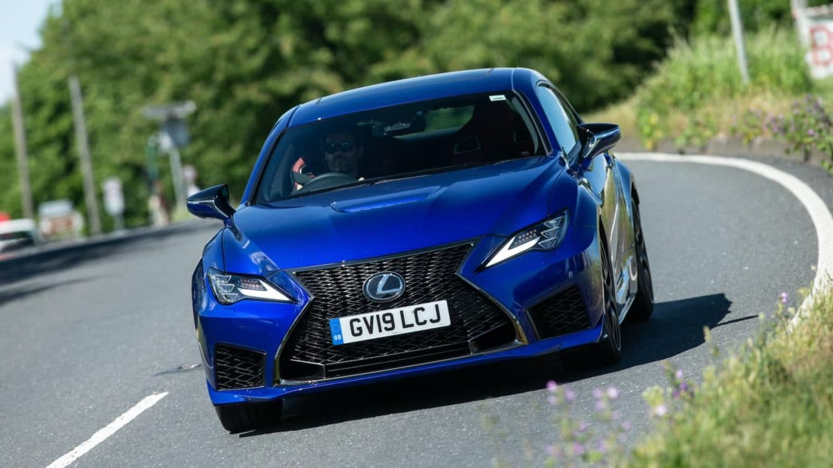 2020 Lexus RC F road test - front | The Car Expert