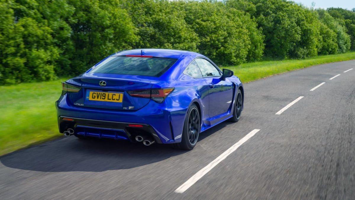 2020 Lexus RC F road test - rear | The Car Expert